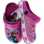 Disney Frozen Eiskönigin Clogs Hausschuhe Sandalen div. Größen, Größe:32/33, Farbe:Rosa