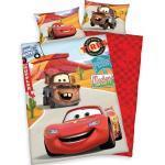 Disney Kinderbettwäsche »Cars on Road«, mit Automotiven, rot