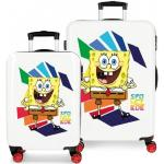 Disney kofferset Spongebob junior 34/70 Liter rot/weiß 2 teilig