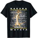 Disney The Lion King Timon Hakuna Matata Holiday Christmas T-Shirt