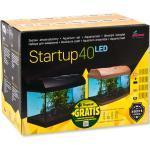 Diversa Aquarium StartUp Set LED Serie, komplett Aquariumset Glasbecken Nano