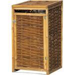 Dobar Mülltonnenbox Verkleidung (70 x 83 x 132, Geeignet für: 1 Mülltonne)