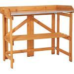 Dobar Pflanztisch Holz 84,5 x 43,5 cm x 88 cm