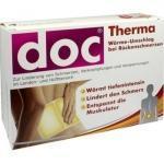 Doc Therma Wärme-umschlag bei Rückenschmerzen, 4 STUECK