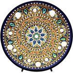 Domybest DIY 5D Diamond Painting Mandala mit Lampe LED Warmweiß Nachtlicht Kinder Tischlampe batteriebetrieben Deko für Schlafzimmer Wohnzimmer