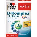 Doppelherz Gesundheit Mineralstoffe & Vitamine B-Komplex + Folsäure Tabletten 45 Stk.