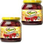Doppelpack Lausitzer Erdbeeren 2 x 580 ml Glas