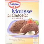 Dr. Oetker Mousse Au Chocolat Fein Herb, 8er Pack (8 x 86 g Packung)