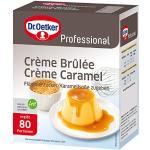 Dr. Oetker Professional Crème Brûlée / Crème Caramel, 1000 g