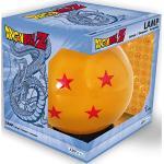 Dragon Ball 3D LED Mood Light Crystal Ball orange/schwarz, Kunststoff, mit USB-Anschluss, im Geschenkkarton.