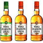 Dreierpack 3x0,5L Polnischer Traditions Wodka Vodka Zoladkowa Gorzka Polska