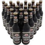Dresdner Schwarzer Steiger - Schwarzbier (20 Flaschen à 0,5 l / 5,0 % vol.) inc. 1.60€ MEHRWEG Pfand