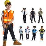 Dress Up America Kinder Bauarbeiter Rollenspiel Set Kostüm Alter 3-6