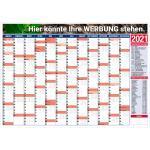 druckspezialist Wandkalender Jahresplaner 2021 A1 mit Druck Logo Werbung 4-farbig