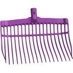 Dunggabel kunststoff violett ohne Stiel