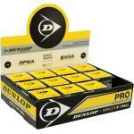 Dunlop Squashball Pro (2 Punkt) 12er schwarz im Karton