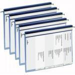 Durable 2555 Personalhefter blau, 5 Stück