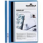 DURABLE Schnellhefter Duraplus DIN A4 Blau PVC