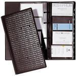 DURABLE Visitenkartenringbuch Visifix® Centium DIN A4 Schwarz 14,5 x 4,5 x 25,5 cm