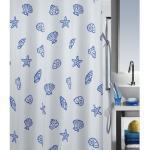 Duschvorhang spirella Concha Marine Textil 240 x 200 cm