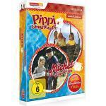 DVD Pippi Langstrumpf & Michel Spielfilmbox (7 DVDs) Hörbuch