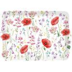 Easy Life Tablett 46x32 Les Coquelicots