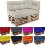 Easysitz Sitzkissen »Palettenkissen Set 3«, 120 x 80 cm für Europaletten, beige, Creme