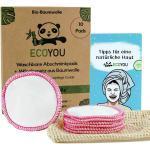 EcoYou - Abschminkpads pink im Wäschenetz - 10er Pack