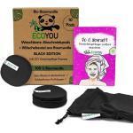 EcoYou - Abschminkpads schwarz im Wäschenetz 10er Pack - Black Edition