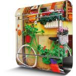 Edelstahl Briefkasten Von Banjado Mit Motiv Grünes Fahrrad