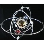 """Edelstahl Windspiel """"Planetensystem"""" - 19 cm Durchmesser"""