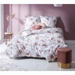 Pastelllilane Moderne Bettwaesche-mit-Stil Schlafzimmermöbel mit Mohnblumen-Motiv