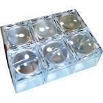 EDU-TOYS 6 St. Mini Lupendose Becherlupe klein mit 5fach Vergößerung