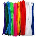 edukit Jumbo-Pfeifenreiniger, 10, inkl. 60 fluoreszierenden Farben, 360 Stück