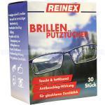 Einwegtücher Reinex Brillenputztücher 30er schonende und gründliche Brillenputzrücher