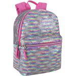 Emma & Chloe Reverse Paillette Glitter rucksäcke - Farbwechsel Rainbow Magic rucksäcke (Pastell-Regenbogen)