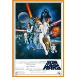 empireposter Poster »Star Wars Maxi Poster«, Star Wars - Orange Sword of Darth Vader (Poster + Rahmen), + Wechselrahmen Shinsuke® Maxi 61x91,5 Kunststoff orange, Acryl-Scheibe, orange, Kunststoff