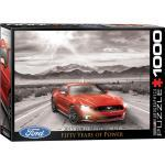 empireposter Puzzle »50 Jahre Ford Mustang GT 2015 - 1000 Teile Puzzle im Format 68x48 cm«, 1000 Puzzleteile