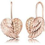 Engelsrufer Ohrhänger Herzflügel Silber ERE-HEARTWING-ZI-R mit synthetischer Zirkonia rosé vergoldet