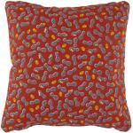 Envie d'ailleurs - Cacahuètes Outdoor-Kissen / 44 x 44 cm - Fermob - Orange
