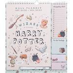 Erik Harry Potter Planer 2021 2022 - Wandkalender 2022 Familienplaner 22 Wandkalender mit Notizzettel und Einkaufsliste