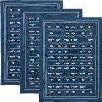 Erwin Müller Geschirrtuch im 3er-Pack blau 50x70 cm
