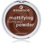 essence Mattifying Compact Powder Kompaktpuder 12 g Nr. 70 - Espresso