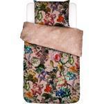 Essenza BETTWÄSCHE Sat Mehrfarbig, Mehrfarbig, Rosa, Blume, 135 cm