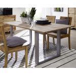 Moderne Sheesham Möbel gebeizt aus Palisander ausziehbar Breite 150-200cm, Höhe 50-100cm, Tiefe 50-100cm