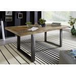Schwarze Industrial Main Möbel Tische lackiert aus Recyclingholz Breite 150-200cm, Höhe 150-200cm, Tiefe 150-200cm