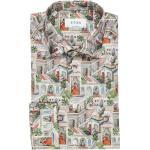 ETON Contemporary Fit Hemd mehrfarbig, Gemustert