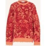 Etro Oversized-Pullover rot