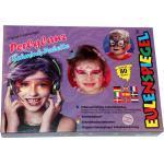 Eulenspiegel - 8-Farben Paletten Perlglanz Schmink-Palette