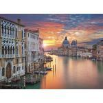 EUROART Wandbild 100 x 135 cm Venice feelings Holz Orange